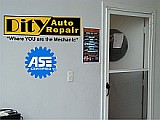 DitY Auto Repair office door